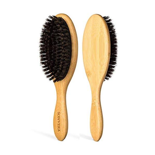 Beauty Shopping Boar Bristle Hair Brush for Men Natural Hair Brushes for Women Pure Boar Bristle