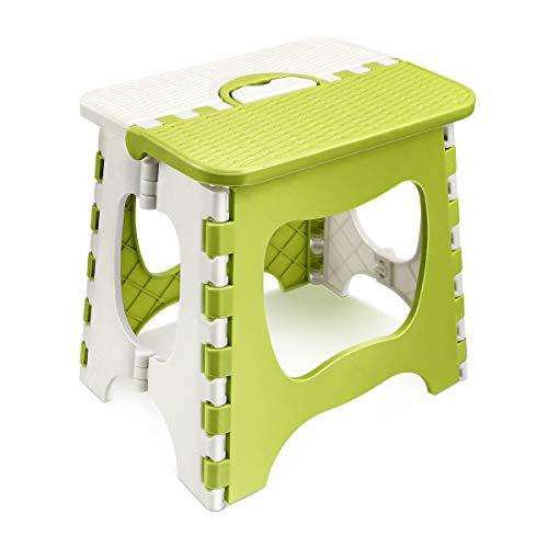 踏み台 折りたたみ椅子 収納ラクラク 軽量 耐荷重100kg 子供 アウトドア 子供大人兼用 脚立 ステップ台 脚立 洗車 釣り フィッシング 折り畳みチェア 収納持ち運び便利 滑り止め 大人/子供兼用 長さ29×幅23×高さ22cm 緑