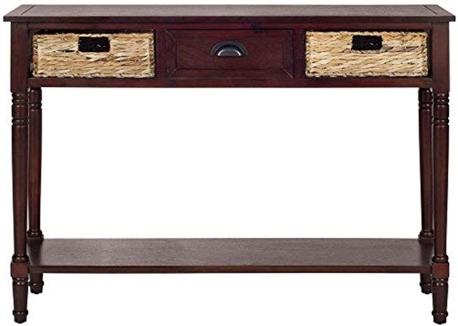 Safavieh AMH5737C American Homes Collection Console Table with Storage, Christa Cherry