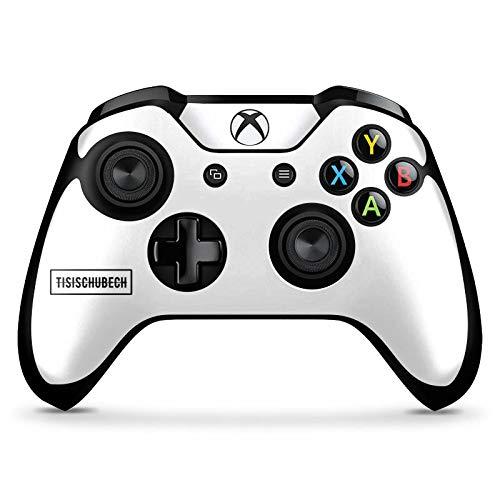 DeinDesign Skin kompatibel mit Microsoft Xbox One X Controller Aufkleber Folie Sticker Youtuber Merchandise Fanartikel Tisi Schubech