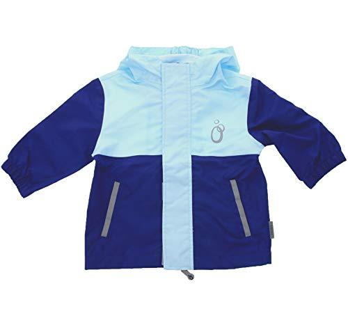 lamino Funktions-Jacke wärme isolierende Kinder Regen-Jacke Freizeit-Jacke Outdoor-Jacke Blau, Größe:140
