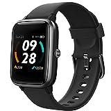 Lintelek Smartwatch 1.3 Zoll Touch Farbdisplay Screen mit GPS 5ATM Wasserdicht Smart Watch...