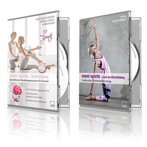 Die große mami sports Box: 10 Wochen Rückbildungsprogramm + Funktionelles Beckenbodentraining nach der Rückbildung