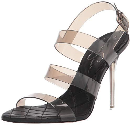 Jessica Simpson Damen Wavie High Heel Sandale mit Absatz, smoke, 35.5 EU