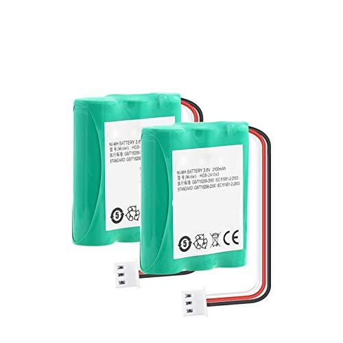 THENAGD Batería Nimh De 3.6v 2100mah, Hgb-2a10x3 Btr2260b Hgb-15aax3 Paquete AA para TeléFono 515h Ets2022 Ets2222 Ets2222 Ets2252 Ets3023 2Pieces