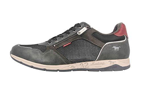 MUSTANG Shoes Halbschuhe in Übergrößen Grau 4106-316-259 große Herrenschuhe, Größe:50