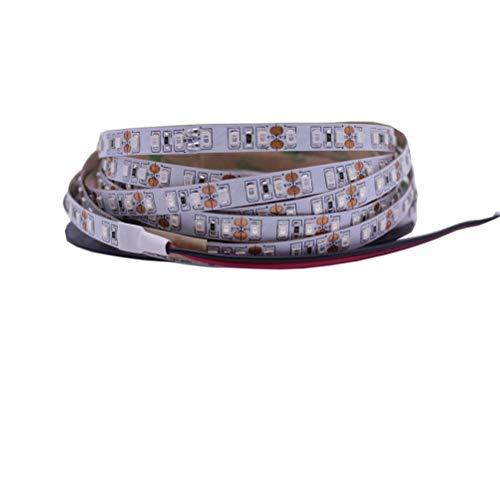WUHUAROU 12V UV Ultravioleta 395-405nm Tira de led luz Negra 5050 2835 SMD 60led / m 120led / m lámpara de Cinta no Impermeable (Color : 2835-120, Size : 4m)