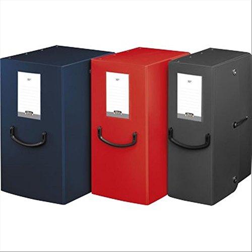 Fellowes 40273 Raccoglitore Pick Up Box, Dorso 16 cm, Rosso