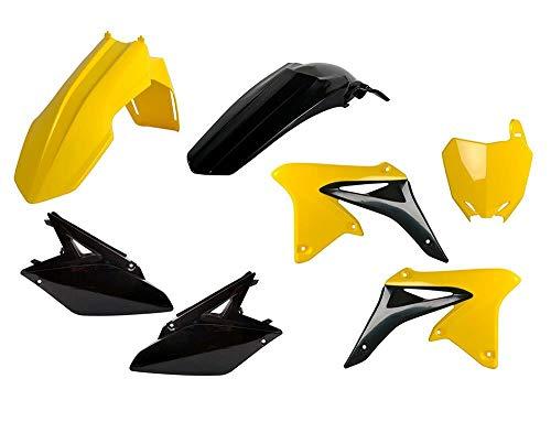 Motodak Kit Plastiques POLISPORT Jaune/Noir Suzuki RM-Z250