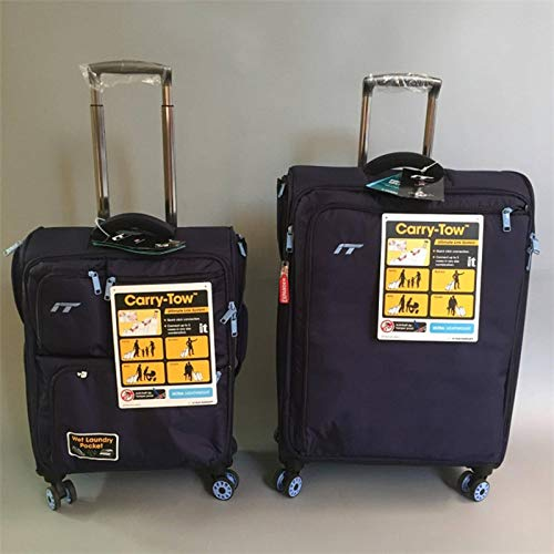 N-B 20-inch Ultra-light And Silent Oxford Brazil Case, 24 Inch Suitcase, Large Capacity 28 Checked Luggage