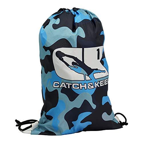 Catch&Keep Turnbeutel Gym Bag - Premium Sportbeutel für alle Sportler - Großer Stauraum/reißfeste Bänder - Für Erwachsene & Kinder
