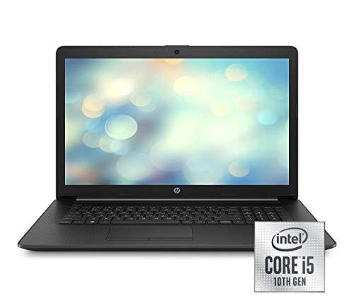 HP 17-by2236ng (17,3 Zoll / HD+) Laptop (Intel Core i5-10210U, 8GB DDR4 RAM, 512GB SSD, Intel UHD Grafik, Windows 10) schwarz