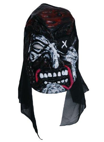 Zombie Masque pour les yeux en croix