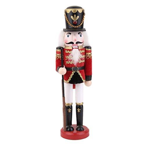 MagiDeal Casse Noisette en Bois écossais Figurine Soldat Collection Enfant Adulte #2