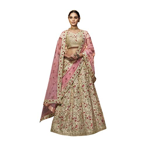 Designer Bollywood Bridal Wedding Lehenga Choli Ghagra Girl Skirt Top Rock Kleid mit Dupatta Frauen traditionelle Hochzeit indische Frau festlich...
