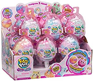 Pikmi Pops Surprise! Pikmi Flips (Reversible Scented Plush) Cotton Candy Series - 12 Pack Display Case