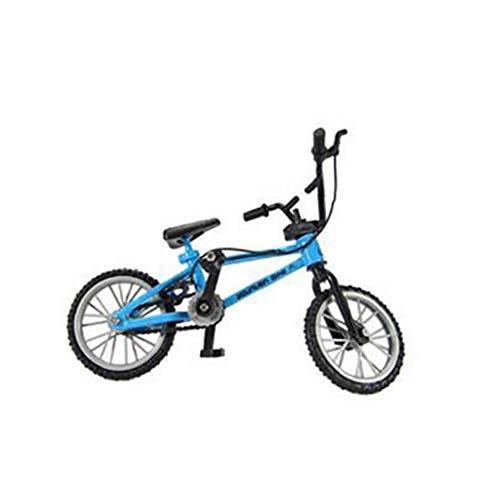 ZYCX123 Dedo Miniatura Bicicletas de montaña Funcional Nini Bici del Deporte de los Juguetes metálicos de Juegos para niños Boys Blue PC 1