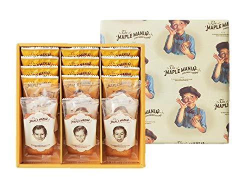 ザ・メープルマニア メープルギフト18枚詰合せ ラングドシャ チョコレート フィナンシェ 贈り物 お土産 個包装 プレゼント お祝い 敬老の日 贈り物 ギフト