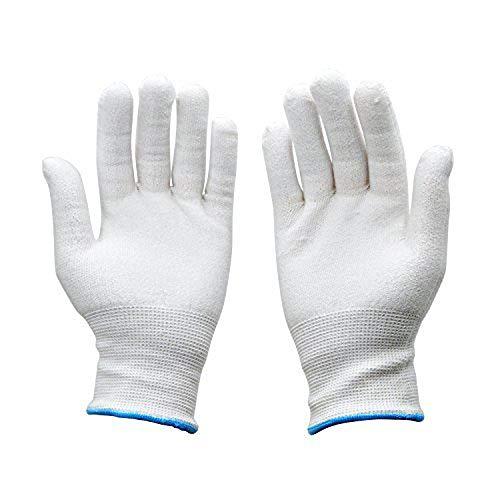 NTOW HPPE Schnittschutz-Handschuhe [1 Paar] – Extra Starker [Level 5] Hochwertiger & Leichter Kettenhandschuh Schnittfeste Handschuhe für Küche, Garten und Büro Atmungsaktiv Anti-Schnitt-Handschuh