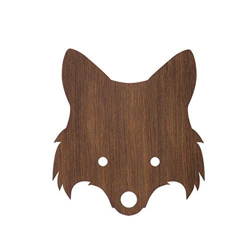 Ferm Living Fox Lamp Smoked Oak