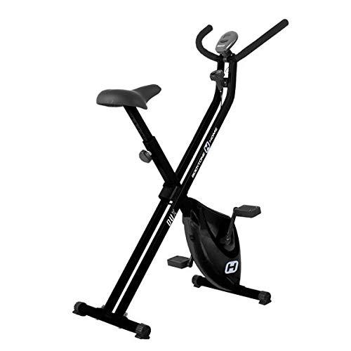 BT BODYTONE - DU-X - Bicicleta Estática Plegable para Tus sesiones Fitness en casa - Pantalla Led y Pulsómetro - Peso Máximo Usuario 100 KG.