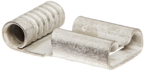Uninsulated Flag Terminal, Small Packs, 16-14 Wire Size, 0.250