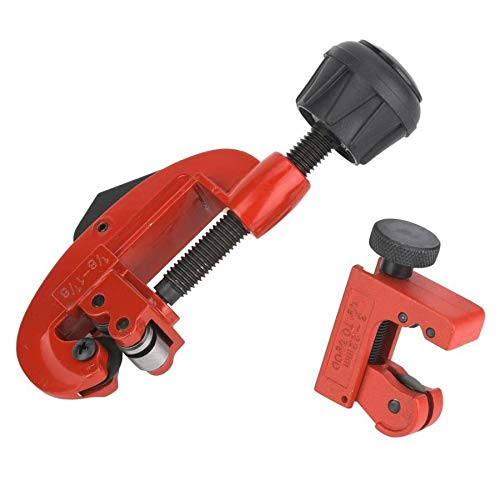 Pipe Cutter 3-22mm Tube Cutter with Ball Bearing Hobbing Cutting Blade for Stainless Steel Aluminum Copper Tube Tools,Easy Installation