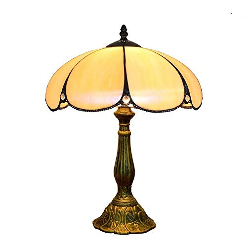 30CM lamparas de mesa Lámpara de mesa de aleación de base E27 creativa retro Luz de cabecera de dormitorio simple americana