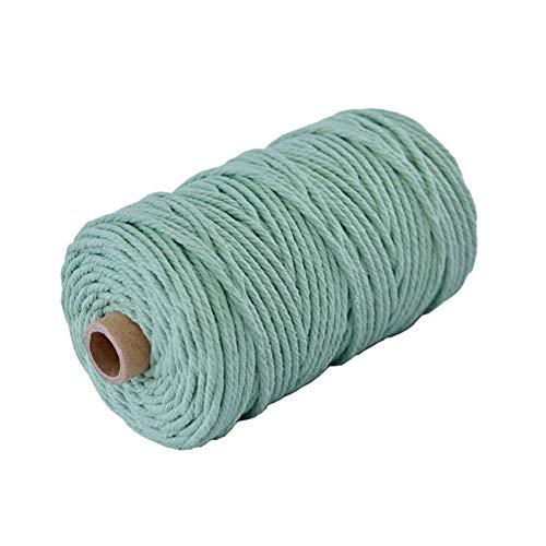 Cuerda de Algodón 5Mm Verde Marca Nikgic