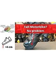 Upbikers: Accesorio para el motorista para llegar mejor al suelo en la moto.