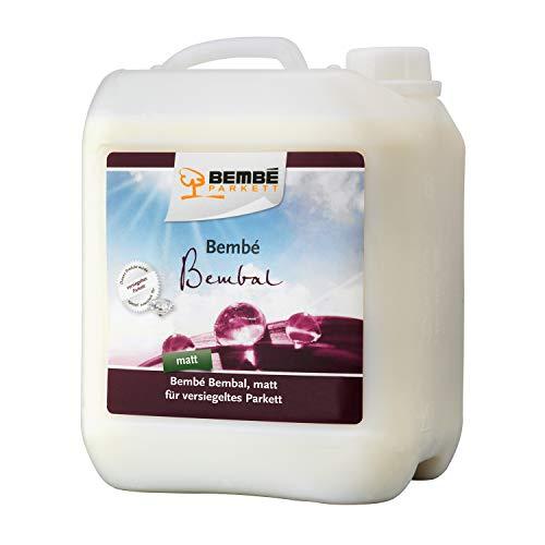 Bembé Bembal Parkettpflege MATT für versiegeltes Parkett 5 Liter