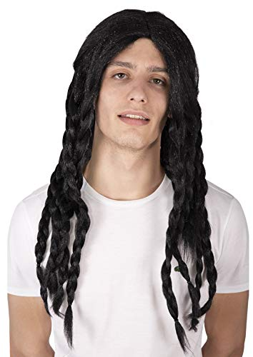 P'tit Clown 90071 Perruque Dreadlocks - Noir