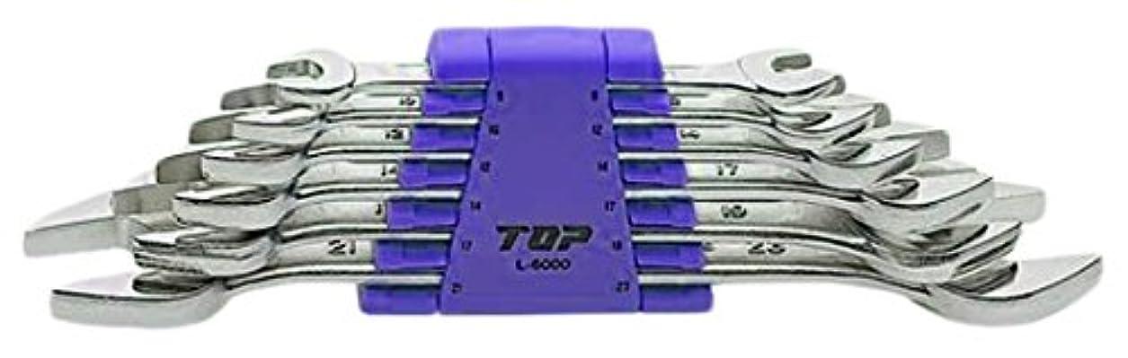 過ち負担コンパイルトップ(TOP) ライナースパナ インチタイプ 6丁組 2個入 L