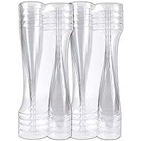 Schramm® 20 Piezas de Copas de champán Desechables Copa de champán Flautas de champán