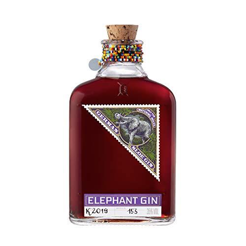 Elephant Gin Sloe (35 % Vol)– preisgekrönter Schlehenlikör auf Gin Basis, traditionell mit handverlesenen Schlehen. Beerig fruchtig mit prägnantem Schlehengeschmack (1x 0,5 L)