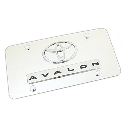 Dual Avalon en cromo, cromo placa
