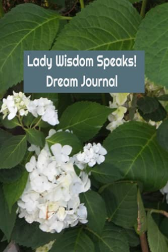 Lady Wisdom Speaks! Dream Journal: Wake Up and Be Wise