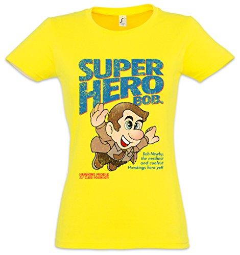 Urban Backwoods Super Hero Bob Mujer Girlie Women T-Shirt – Tamaños XS – 2XL