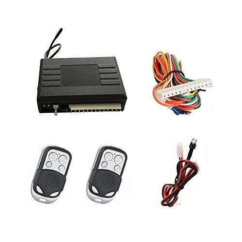 SLPRO Funkfernbedienung kompatibel für Original-Zentralverriegelung mit 2 Handsender Edelstahl