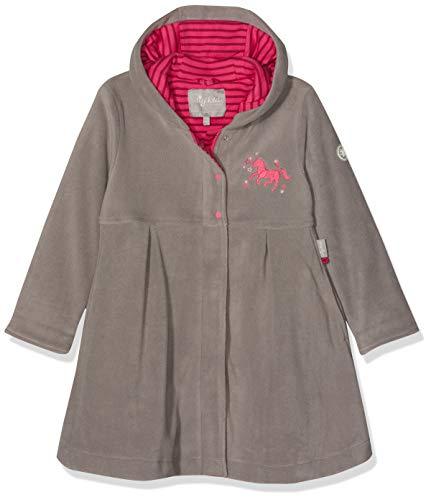 Sigikid Mädchen Fleece, Mini Mantel, Grau (Grau (Titanium 2) 2), 98