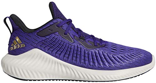 adidas Mens Alphabounce+ Trainers Purple 10