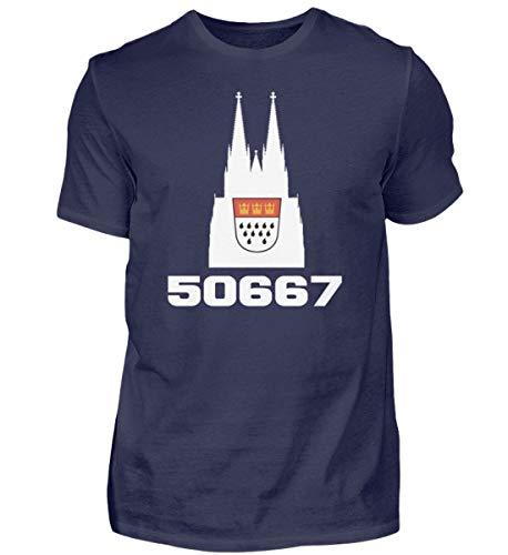 DiSzy 50667 - Maglietta da uomo di Colonia di Colonia blu scuro M