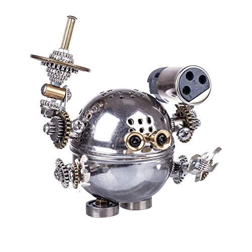 Tank 3D Metal Puzzle Kit Robot 3D Puzzle DIY Metal Puzzle 3D Model Kit Metal Puzzle Model Robot Model Kits para Adultos/niños