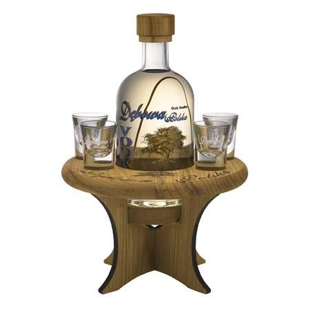 Wodka Debowa Polska 0,7L +Tisch+4 Gläser in Geschenkpackung