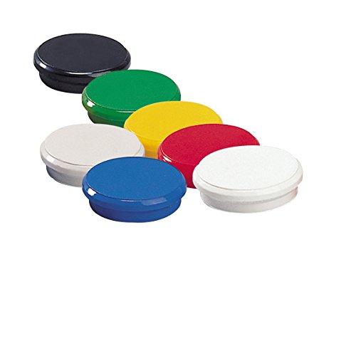 Dahle - Imán (24 mm, 10 unidades), multicolor