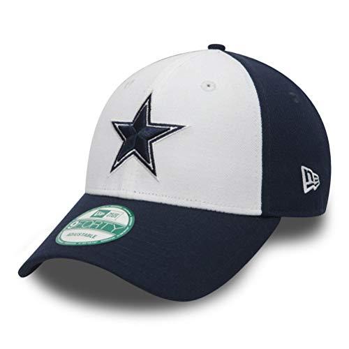 New Era 9forty - Gorra con ajuste trasero, diseño de la liga NFL, Unisex, Dallas Cowboys #2716, OSFM (One Size fits most)