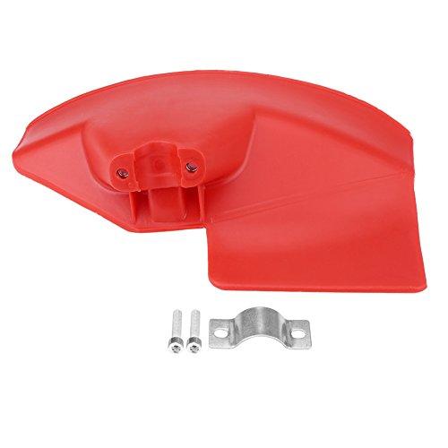 HelloCreate 1 unid cepillo cortador protector protector para 24 26 28mm diámetro eje cortador cepillo