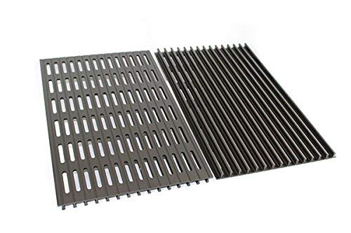 Modernhome MHP Gas Grill JNR Sear Magic Ribbed Anodized Aluminum Cooking Grate Set HHGRIDS-Set