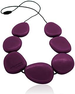 Jellystone Necklace - Silicone (Teething/Nursing) (Eggplant)