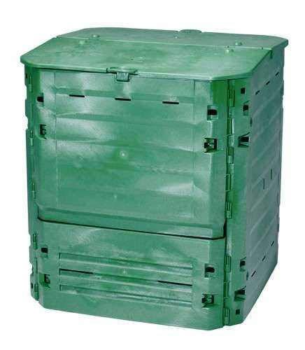 Garantia Composteur Thermo-King Vert + Grille de Fond, Contenance 400 L